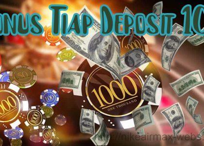Bonus Tiap Deposit 10%